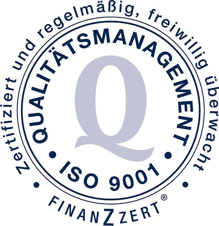 Joachim Krüger ist nach ISO 9001 zertifiziert