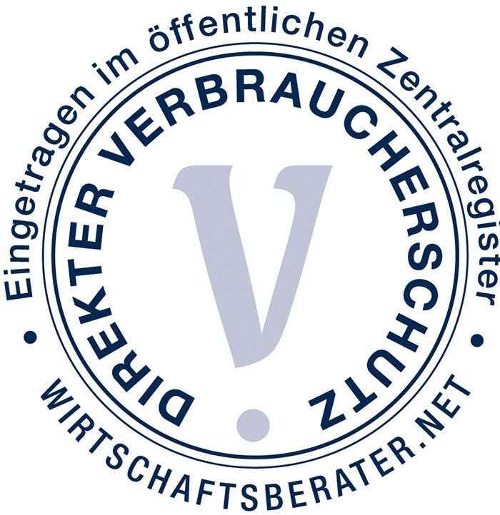 Joachim Krüger  ist im öffentlichen Zentralregister eingetragen